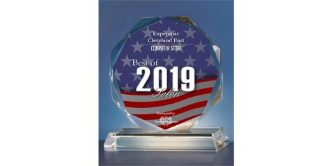 Experimac Cleveland East Receives 2019 Best of Solon Award, Solon, Ohio