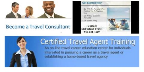 Certified Travel Consultant Training, Raleigh, North Carolina