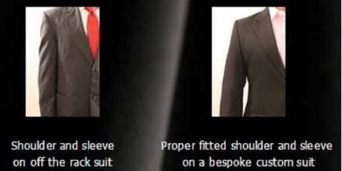 Why should you buy a custom-made suit?, Morehead, North Carolina