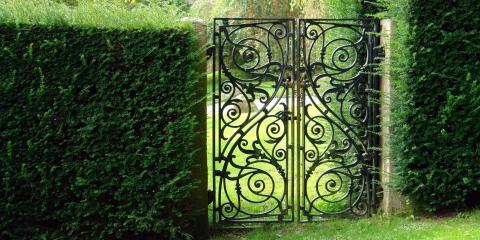 3 Benefits of Wrought Iron Gates, Archdale, North Carolina