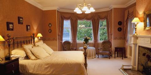 3 Components of a Modern Victorian Bedroom, Kirkwood, Missouri