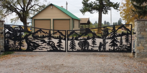 Should I Get Aluminum or Wrought Iron Gate & Fencing?, Evergreen, Montana