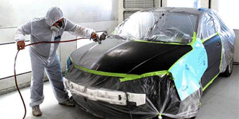 how to make car paint look old