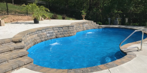 5 Unique Custom Swimming Pool Shapes With Serious Flair , 10, Illinois