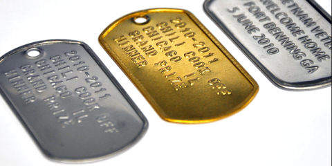 Make Your Own High-Style Custom Dog Tags at Ame Ame, Manhattan, New York