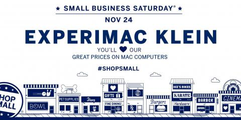 Join us for #SmallBizSat this Nov 24 and #ShopSmall at the businesses you love, Northwest Harris, Texas