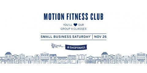 Shop Small at Motion, Saturday, November 26th!, Millburn, New Jersey