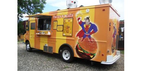 Taste The Deliciously Unique Burgers at Frites'N'Meats Custom Food Truck in NYC, Brooklyn, New York