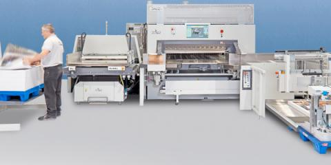 SpringDot's Bindery Machines Put The Finishing Touches on Your Digital Printing Products, Cincinnati, Ohio