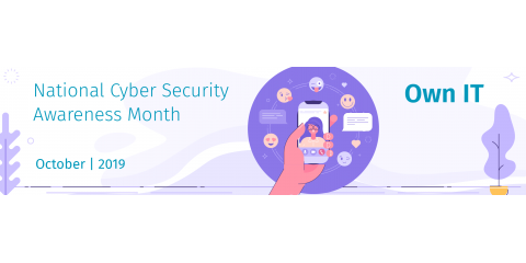 October is National Cyber Security Month, Islip, New York