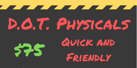 What Does A D.O.T. Physical Consist Of?, St. Charles, Missouri