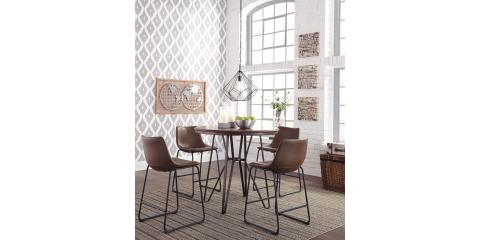 Mcguire Furniture Rental Set Magnificent 5 Piece Pub Height Dining Set Centiarashley $497  Mcguire . Design Ideas