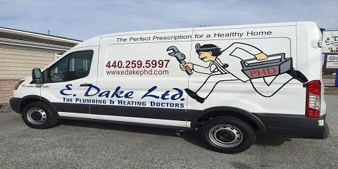 E Dake Ltd The Plumbing & Heating Doctors, Plumbing, Services, Perry, Ohio
