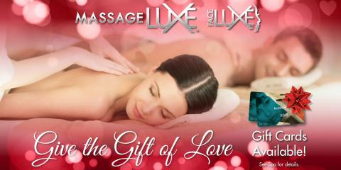 Valentine's Day Massage & Facial Packages at MassageLuxe, Springfield, Illinois