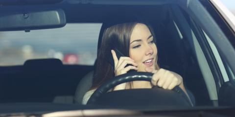 How Using Your Phone & Driving Could Impact Your Auto Insurance Rates, Dalton, Georgia