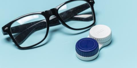 How to Decide Between Eyeglasses or Contact Lenses, West Chester, Ohio