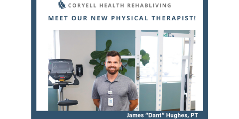 Coryell Health RehabLiving Welcomes Physical Therapist- Dant Hughes, Gatesville, Texas