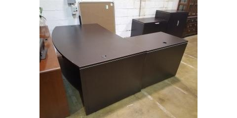 L-SHAPE DESK WITH STORAGE CABINETS-$800, Maryland Heights, Missouri
