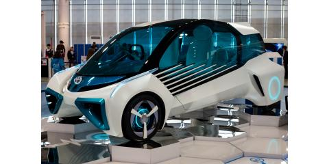 Hydrogen fuel cell cars, ,