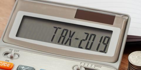 2019 Tax change, Sheboygan, Wisconsin