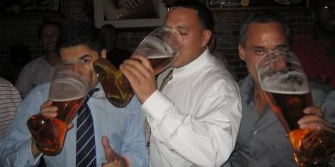 Midtown Bar Reveals History & Secret of Drinking Das Boot, Manhattan, New York