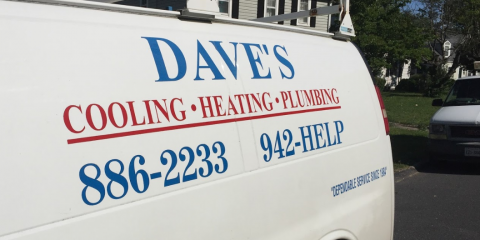 Dave's Cooling Heating & Plumbing, Heating & Air, Services, Staunton, Virginia