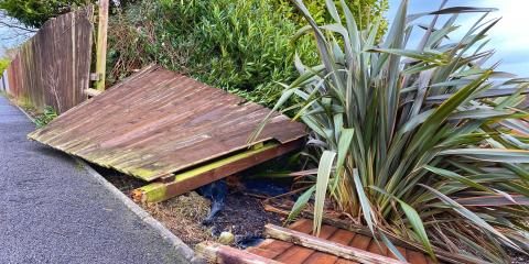 3 Steps to Take After a Fence Falls, ,