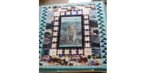 Finished My Sister's Quilt!, Kalispell, Montana