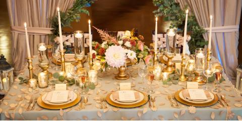 Dayton's Premier Event Rental Service Shares the Benefits of Renting Linens, West Carrollton, Ohio