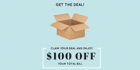 $100 OFF YOUR NEXT MOVE, Cincinnati, Ohio