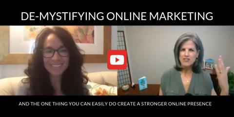 De-Mystifying Online Marketing By Joleen Emery, Minneapolis, Minnesota