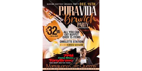 PURA VIDA BRUNCH PARTY - DEC 15- MAMAJUANA CAFE QUEENS , New York, New York