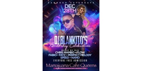 SABROSO SATURDAYS- DEC 28- MAMAJUANA CAFE QUEENS, New York, New York