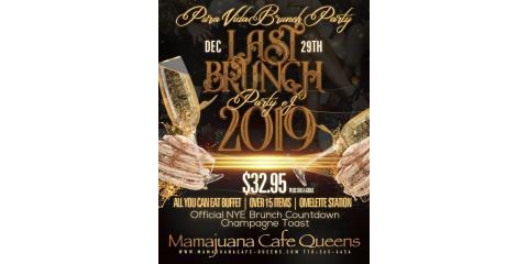 PURA VIDA BRUNCH- DEC 31ST- MAMAJUANA CAFE QUEENS , New York, New York
