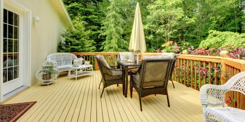 4 Types of Deck Materials, Kodiak Island, Alaska
