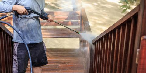 3 Pitfalls to Watch Out for During a Deck Cleaning, St. Charles, Missouri