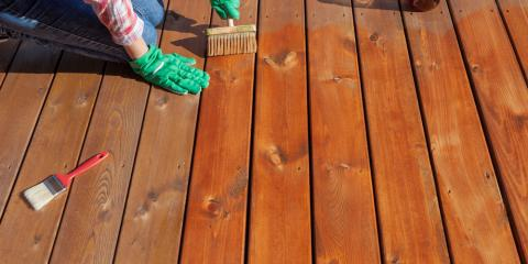 Which Type of Stain Should I Use on My Deck?, Nelson-Tate-Marble Hill, Georgia