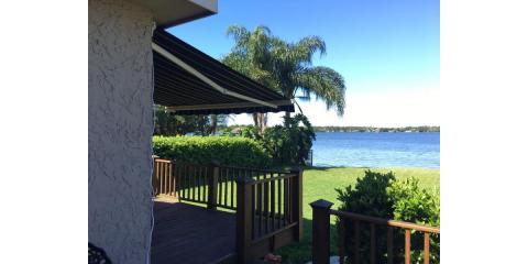A Homeowner's Guide to Retractable Awnings and Permanent Awnings, Groveland-Mascotte, Florida
