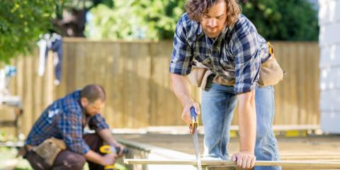 4 Factors When Considering What Size Deck to Build, Blaine, Minnesota