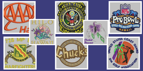 Add Embroidered Flair to Your Uniform at BB Embroidery Ltd., Honolulu, Hawaii