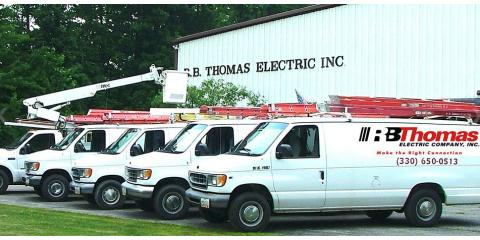 R.B. Thomas Electric Co., Inc., Electricians, Services, Hudson, Ohio