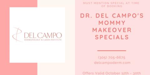 Dr. Del Campo's Mommy Makeover Specials, Miami, Florida