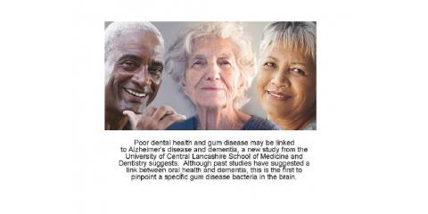 Gum Disease Linked to Alzheimers, Rochester, New York