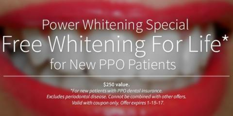 Free Teeth Whitening Offer for New Patients, Anchorage, Alaska