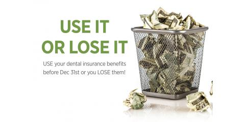 Montgomery Dentist Explains Utilizing Your Dental Insurance before it Expires!, Montgomery, Ohio
