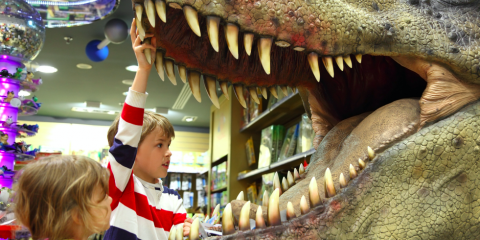 Exhibit Brings Dinosaur Fun To Honolulu Families, Ewa, Hawaii