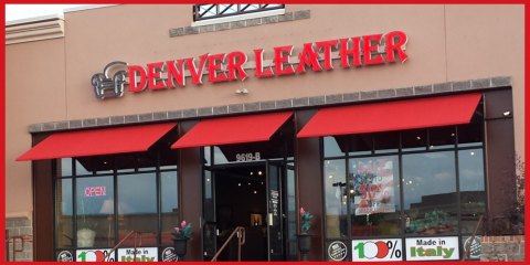 Custom Design Your Very Own Luxury Leather Furniture at Denver Leather Furniture & Accessories , Inverness, Colorado