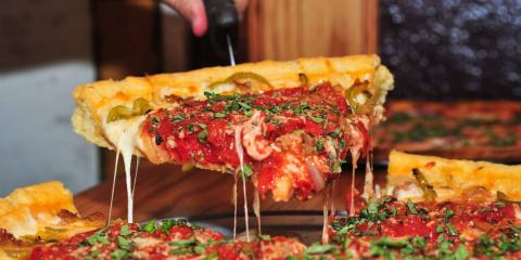 Denver Deep Dish, Pizza, Restaurants and Food, Denver, Colorado