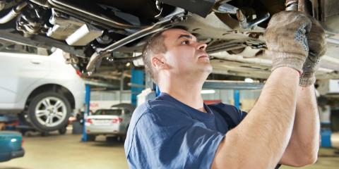 3 Signs Your Car Needs Suspension Repairs, Anchorage, Alaska