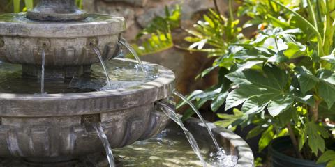 3 Water Features to Try in Your Backyard, East Bloomfield, New York